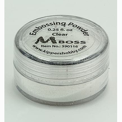 MBoss Embossingpulver Clear (Transparent)