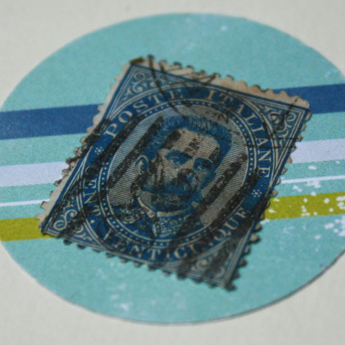 Real Used Stamp für die DIY Collage
