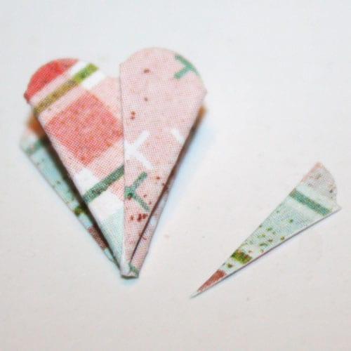 Element für die papierblume