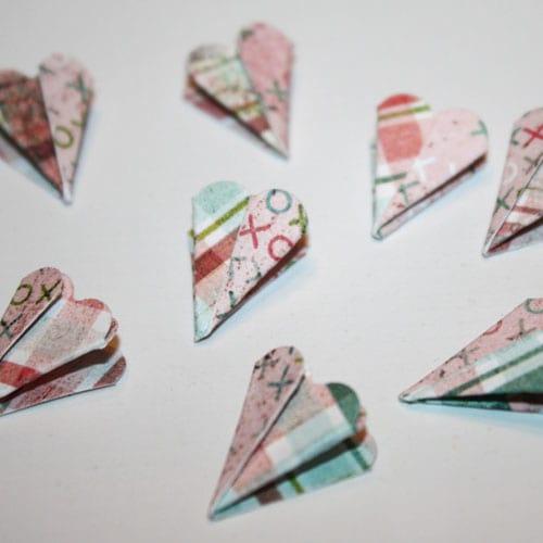 Elemente für die Papierblume
