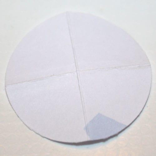 Basis für die Papierblume