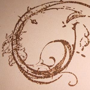 Stempeln mit Distress Ink Stempelkissen