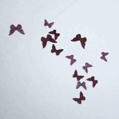 Stanzteile Mini-Schmetterlinge