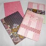 Bescrappte Notizzettel - mit viel Freude & Spaß können Sie aus Papierresten herrliche Gegenstände zaubern