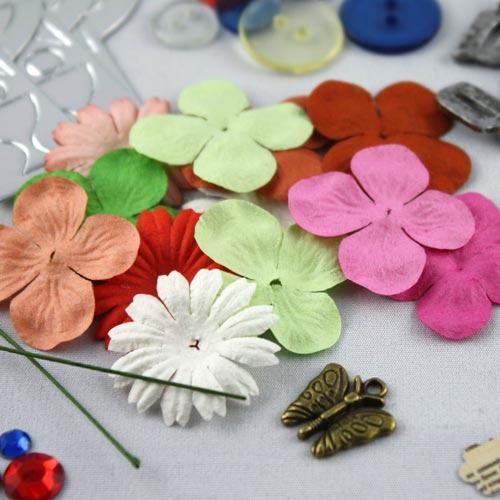 Beispiel Papierblumen